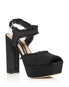 Sergio Rossi - Women's Monica High Block-Heel Platform Sandals