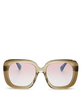 Oliver Peoples - Women's Nella Square Sunglasses, 56mm