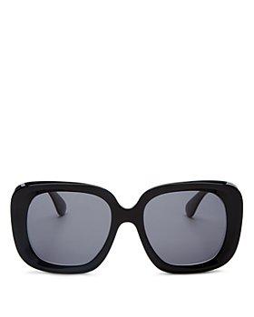 Oliver Peoples - Women's Nella Polarized Square Sunglasses, 56mm