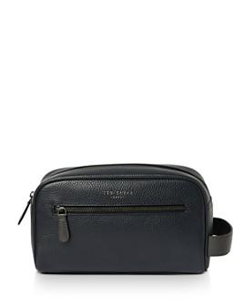 Ted Baker - Snax Leather Washbag