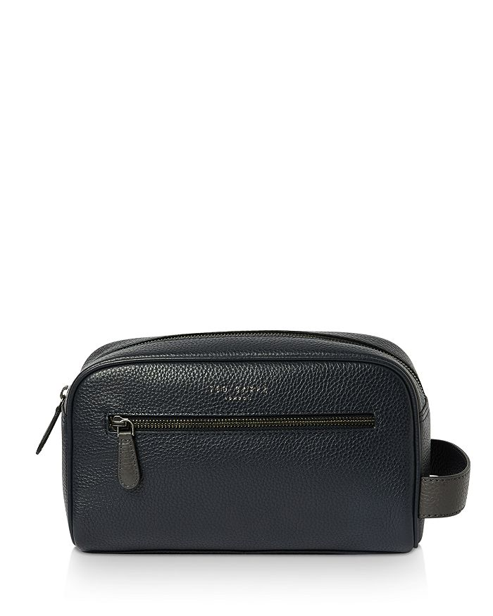 Ted Baker - Snax Leather Washbag