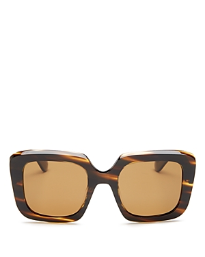 Oliver Peoples Women's Franca Polarized Square Sunglasses, 52mm