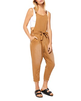 Free People - Nobody's Fool Sleeveless Cropped Jumpsuit