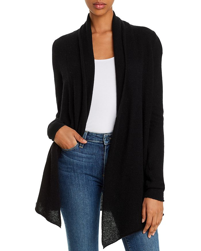 C by Bloomingdale's - Open-Front Cashmere Cardigan - 100% Exclusive