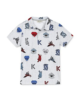 Kenzo - Boys' Printed Polo Shirt - Big Kid