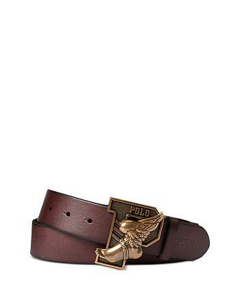 Polo Ralph Lauren - Winged-Foot Plaque Belt