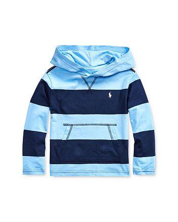 Ralph Lauren - Boys' Striped Hooded T-Shirt - Little Kid