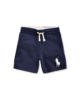 Ralph Lauren - Boys' Big Pony French Terry Shorts - Little Kid