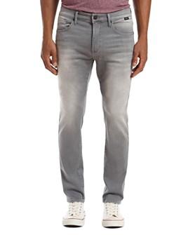 Mavi - Jake Athletic Slim Fit Jeans in Dark Gray