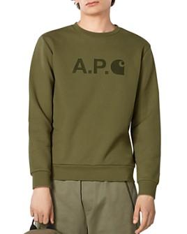 A.P.C. - x Carhartt WIP Graphic Logo Sweatshirt