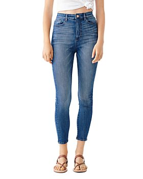 DL1961 - Chrissy Ultra High Rise Cropped Skinny Jeans in Huron