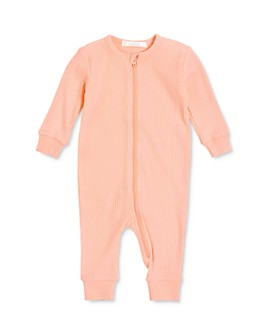 FIRSTS by petit lem - Girls' Textured Zip Coverall - Baby