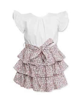 Bardot Junior - Girls' Alli Cotton Layered-Look Dress - Baby