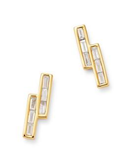 Bloomingdale's - Diamond Baguette Stud Earrings in 14K Yellow Gold - 100% Exclusive