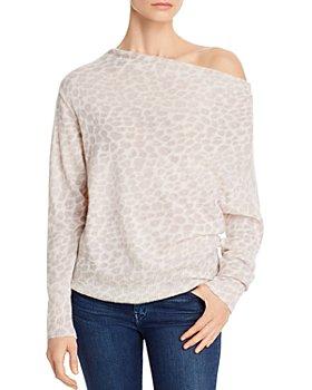 Brochu Walker - Lori Off-The-Shoulder Cashmere Sweater