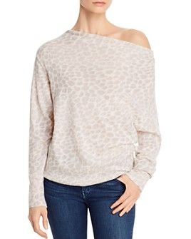 Brochu Walker - Lori Off-The-Shoulder Cashmere Sweater