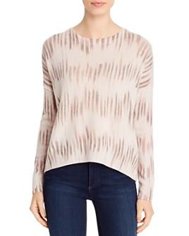 Brochu Walker - Printed Cashmere Sweater
