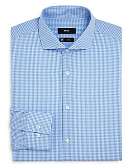 BOSS - Jason Checked Slim-Fit Dress Shirt