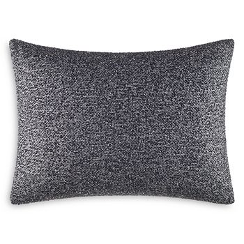 "Vera Wang - Grisaille Weave Boucle Breakfast Pillow, 12"" x 16"""