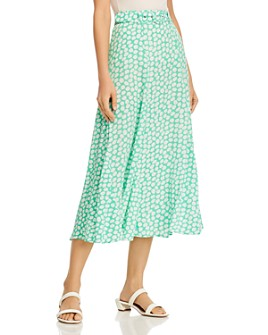 Faithfull the Brand - Val Floral-Print Midi Skirt