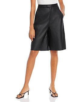 REMAIN - Manu Leather Shorts