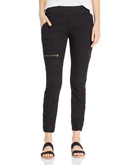 XCVI - Malanda Ruched Cargo Pants