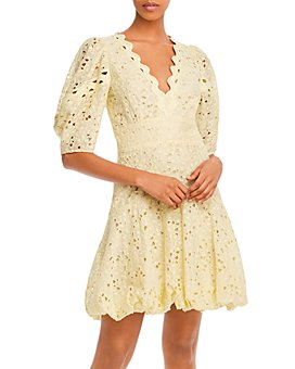 Rebecca Taylor - Audrey Eyelet Mini Dress