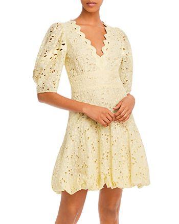 Rebecca Taylor - Audrey Eyelet Mini Dress