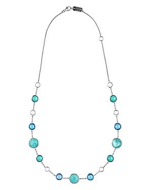 Ippolita Sterling Silver Lollipop Lollitini Mixed Gemstone Necklace, 18
