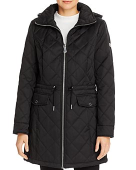 Calvin Klein - Quilted Mid-Length Coat