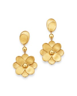 Marco Bicego - 18K Yellow Gold Petali Flower Drop Earrings - 100% Exclusive