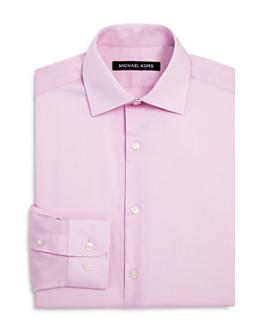 Michael Kors - Boys' Cotton Dress Shirt - Big Kid