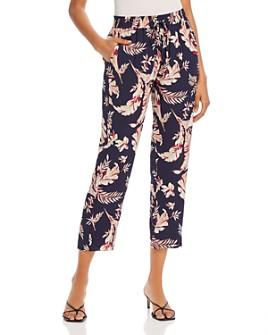Joie - Quisy Floral Print Drawstring Pants