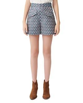 Maje - Irako Jacquard Shorts