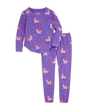 CHASER - Girls' Unicorn Cozy Knit Top & Jogger Pants - Little Kid