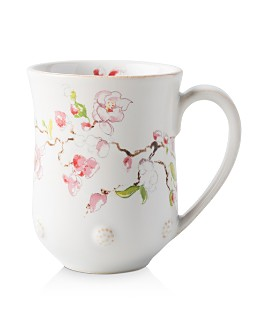 Juliska - Berry & Thread Floral Sketch Cherry Blossom Mug