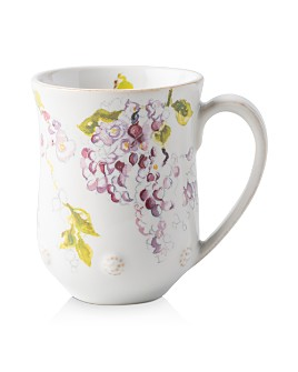 Juliska - Berry & Thread Floral Sketch Wisteria Mug