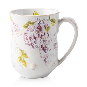 Juliska - Berry & Thread Floral Sketch Wisteria Mug