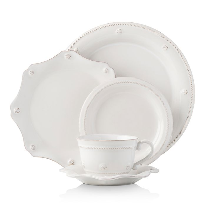 Juliska - Berry & Thread Whitewash 5-Piece Place Setting