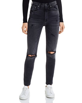 Boyish - The Zachary High Rise Skinny Jeans in Touch of Evil