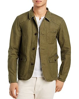 Scotch & Soda - Washed Canvas Regular Fit Jacket