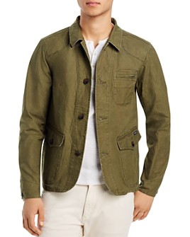 Scotch & Soda - Washed Canvas Regular Fit Jacket