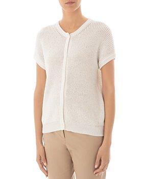 Peserico - Short Sleeve Cardigan