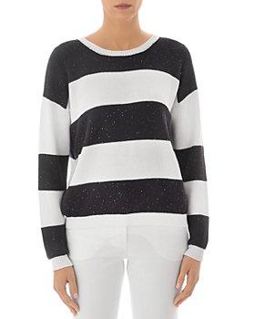 Peserico - Striped Crew Sweater
