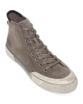 ALLSAINTS - Men's Dumont High-Top Suede Sneakers