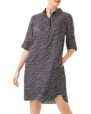 Marciella Botanical Shirt Dress