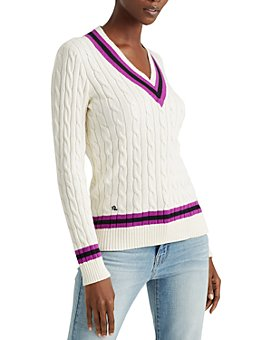 Ralph Lauren - Color-Block Cricket Sweater