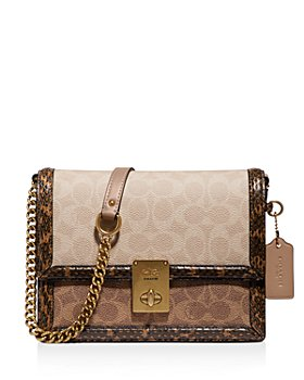 COACH - Hutton Mixed Media Convertible Shoulder Bag