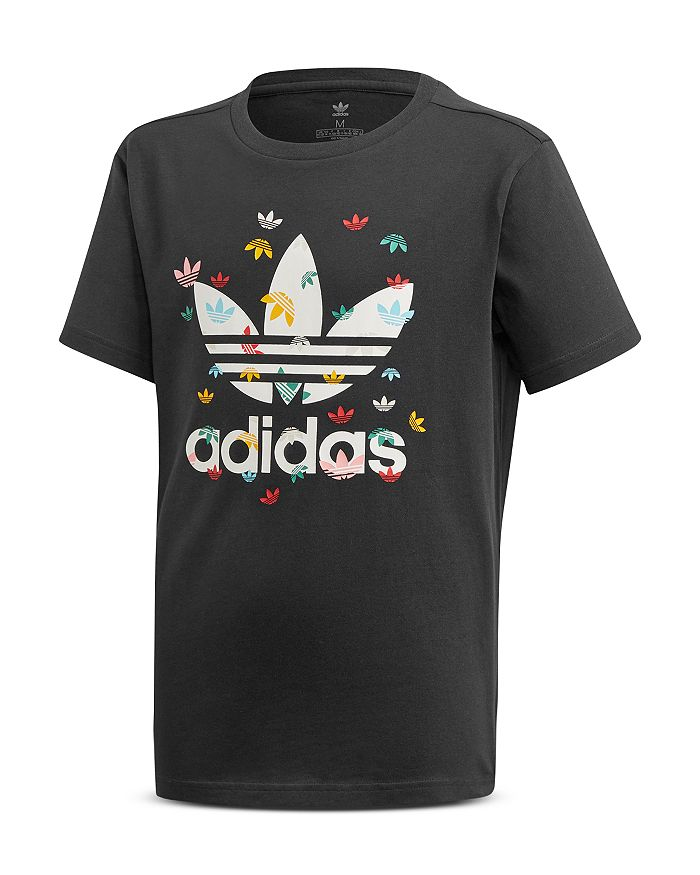 adidas Originals - Girls' Multi Trefoil Tee - Big Kid