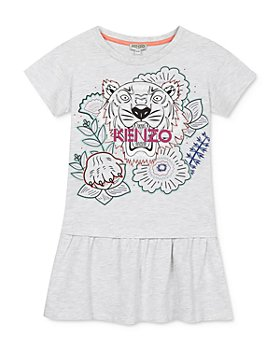 Kenzo - Girls' Tiger Flounce Dress - Big Kid